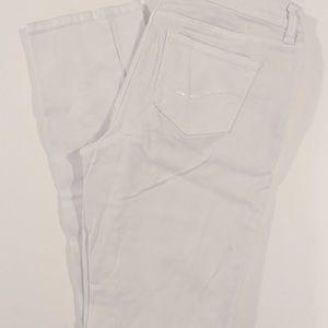 NYDJ Lift & Tuck White Skinny Jeans